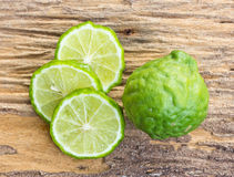 Kaffir limes Stock Photography