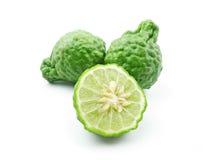 kaffirlimefrukt royaltyfri foto