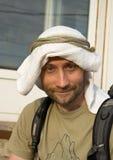 kaffiyeh gjorde mansjälv Fotografering för Bildbyråer