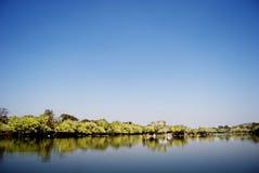 Kafue-Fluss Stockfotos