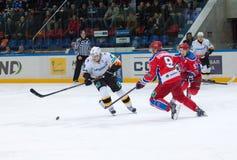 Kagalitsky D. (9) vs Bondarev A. (9) Royalty Free Stock Photo