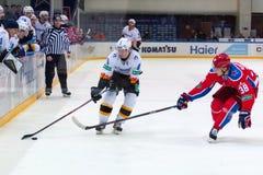 Kagalitsky D. (9) vs Naumenkov M. (38) Stock Photos