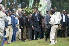 kagame保罗卢旺达总统 免版税库存照片
