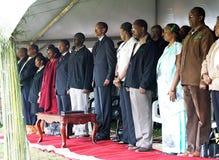 kagame保罗卢旺达总统 免版税库存图片