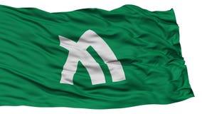 Kagawa Japan Prefecture Flag. Waving on White Background, High Resolution Stock Photos