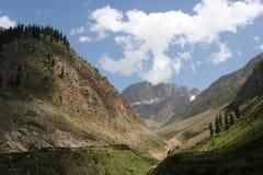 Kaghan Dolina Pakistan Obrazy Stock