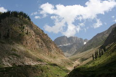 Kaghan Valley Paquistán Imagenes de archivo
