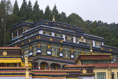 Kagju Monastery, Rumtek, Sikkim, India Royalty Free Stock Images