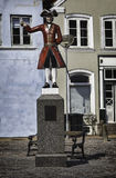 The Kagmand statue in Tonder, Denmark Stock Photos