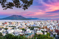 Kagoshima Japan Skyline Stock Photo