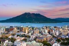 Kagoshima Skyline Stock Images