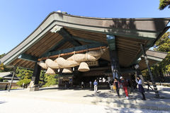 The Kaguraden of Izumo-taisha Stock Photo