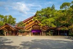 Kaguraden van Atsuta-Heiligdom in Nagoya, Japan stock afbeelding