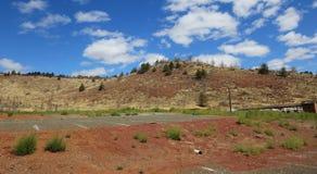 Kah - collines nee de l'Orégon de réservation de ventres Photo libre de droits