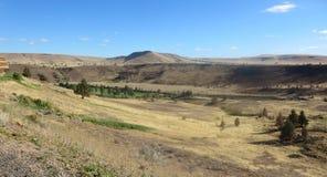 Kah - collines nee de l'Orégon de réservation de ventres Image libre de droits