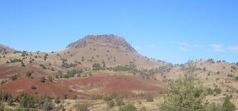 Kah - collines nee de l'Orégon de réservation de ventres Photo stock