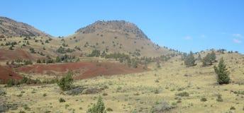 Kah - collines nee de l'Orégon de réservation de ventres Image stock