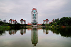 Kah Kee building complex in Xiamen University Stock Photography