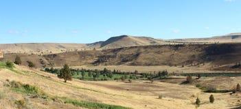 Kah - Nee Ta-Reserve-Oregon-Hügel lizenzfreie stockfotografie