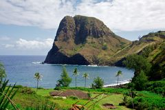 Kahakuloa Head Stock Photo