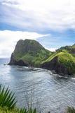 Kahakuloa Head in Maui coast, Hawaii Royalty Free Stock Photography