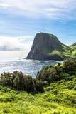 Kahakuloa Head in West Maui, Hawaii Royalty Free Stock Images