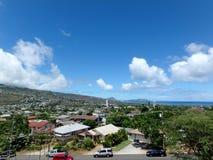 Kahala och sydostligt hörn av Oahu royaltyfria foton