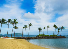 Kahala Resort Beach view Stock Image