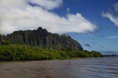 Kahaluu plaża zdjęcie stock