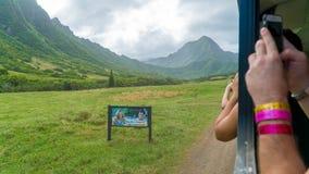 Kahana Valley Movie Locations Stock Photos