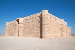 Kaharana: castelo do deserto em Jordão Imagem de Stock Royalty Free