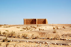 Kaharana desert castle. Kaharana: desert castle in Jordan Royalty Free Stock Photography