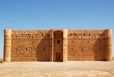 Kaharana desert castle. Kaharana: desert castle in Jordan stock images