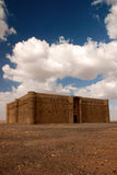 Kaharana Wüstenschloß in Jordanien Stockfotografie