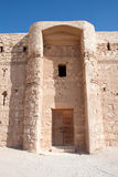 Kaharana, woestijnkasteel, Jordanië Royalty-vrije Stock Afbeelding