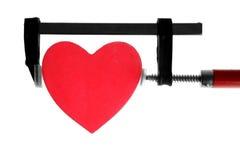 kahata chwyta kierowy naciskowy czerwieni narzędzie Zdjęcie Royalty Free