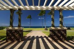 Kahekili plaży park, zachodnie wybrzeże Maui, Hawaje Fotografia Royalty Free