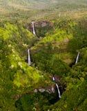 Kahili Falls in Kauai Stock Images