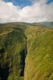 Kahiwa falls of Molokai island Royalty Free Stock Photography