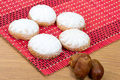 Kahk El Eid. Feast Cookies - with dates Stock Photos