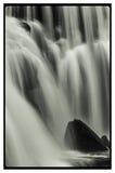 Kahle Fluss-Fälle Stockfoto