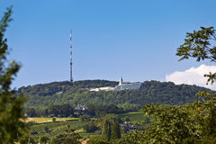 Kahlenberg - known for the best view at Vienna Stock Photo
