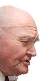 Kahler älterer Mann Lizenzfreie Stockfotos