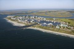 Kahler Kopf-Insel, NC. lizenzfreies stockfoto