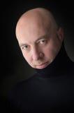 Kahler Mann Stockfoto