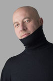 Kahler Mann Lizenzfreies Stockfoto