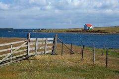 Kahlere Insel Lizenzfreie Stockbilder