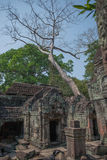 Kahn di Preah Fotografia Stock