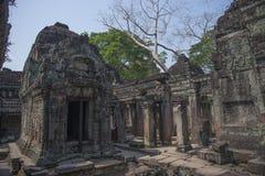 Kahn di Preah Immagini Stock Libere da Diritti