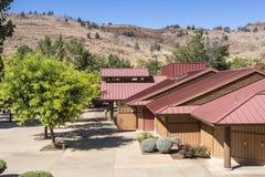 Kahneeta resort and Eastern Oregon landscape. Stock Images